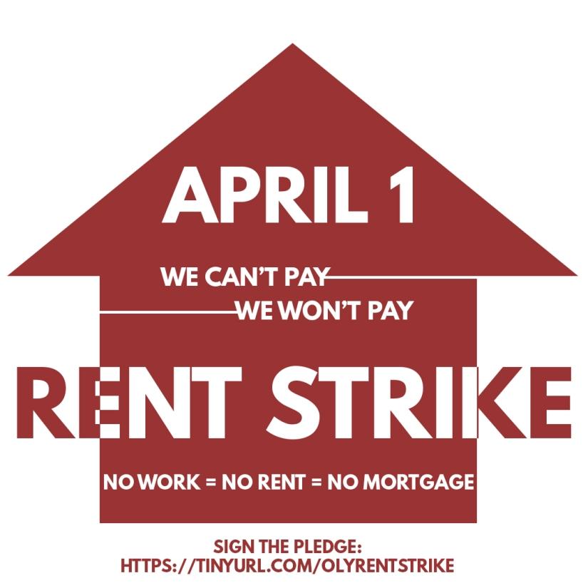 rent strike digital